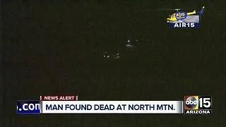Man found dead on North Mountain - Video