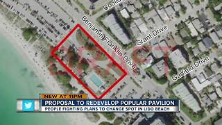 Sarasota city leaders consider redevelopment plans for Lido Beach Pavilion