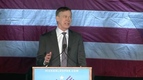 Former Colorado Gov. John Hickenlooper kicks off presidential campaign at Civic Center Park