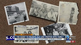 Woman on quest to reunite old lost photos with family