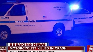 Man Killed In Hermitage Motorcycle Crash - Video