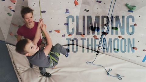 Cerebral palsy can't stop these courageous climbers