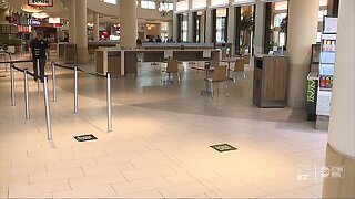 International Plaza reopens to shoppers with new safety measures