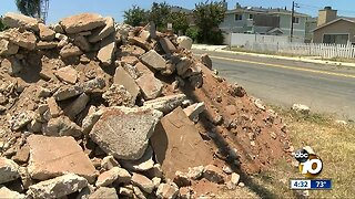Neighbors fed up with illegal construction dumping in Imperial Beach