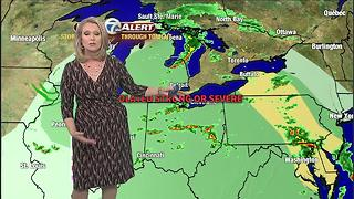 Evening storms - Video