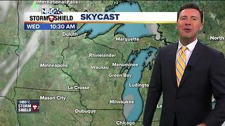 Michael Fish's NBC26 Today Forecast - Video