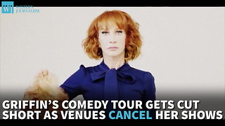 Griffin's Comedy Tour Gets Cut Short As Venues Cancel Her Shows - Video