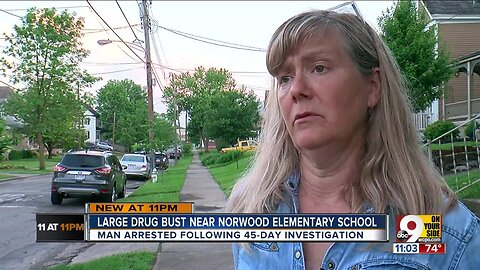 PD: Anonymous tip helped catch Norwood man selling heroin, meth near elementary school