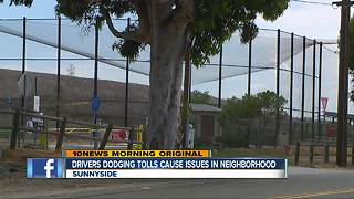 Drivers Dodging Tolls on SR 125 Cause Issues in South Bay Neighborhood - Video