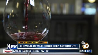 Wine in space