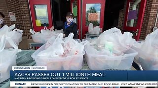 Anne Arundel County Public Schools passes out 1 millionth meal