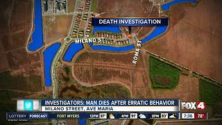 Collier County Sheriff's Office investigating death in Ave Maria - Video