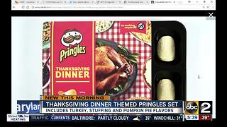 Pringles creates an entire Thanksgiving meal in chips - Video