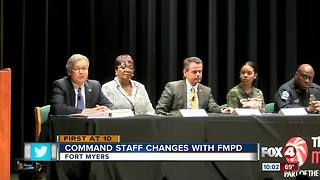 Wholesale changes to command staff at FMPD - Video