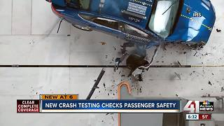 Changes coming in crash testing passenger-side airbags - Video