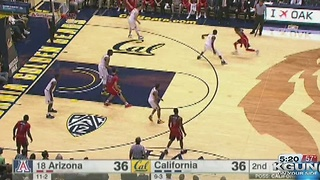 18) Arizona defeats Cal 67-62 as Miller wins his 200th at Arizona - Video