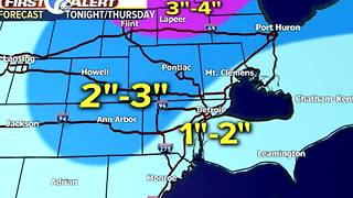 More snow Thursday - Video