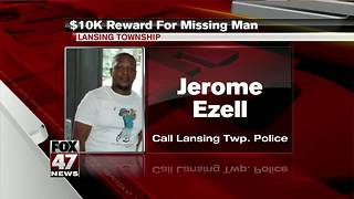 $10,000 reward for missing Lansing man - Video