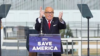 Guliani Realized Why He Can't Defend Trump