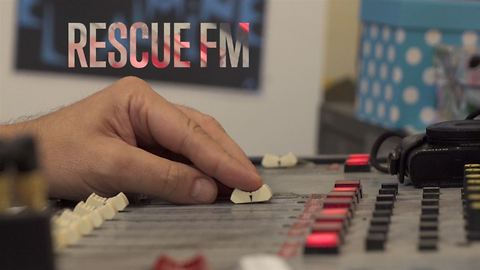 Rescued by the radio: How to reconnect a community