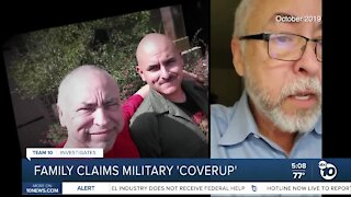 Family alleges possible coverup in Navy medic's death on Socal base