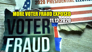 More Voter Fraud 2020 Election
