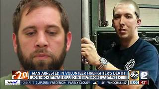 Police arrest Harford Co man in murder of volunteer firefighter - Video