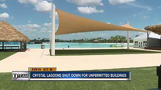 Pasco County issues stop work orders for Crystal Lagoon   WFTS Investigative Report - Video
