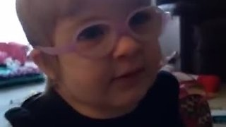Toddler Has The Cutest Reaction When She Sees Parents For The First Time With Glasses