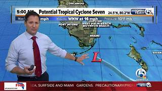 Potential Tropical Cyclone 7 5 a.m. update