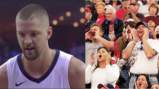 Chandler Parsons BOOED by Home Crowd After Missing Free Throws - Video