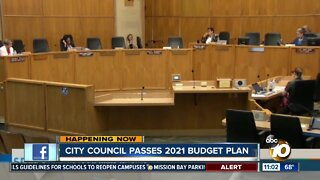 City council passes mayor's proposed budget with changes