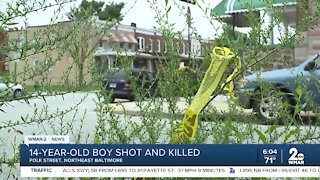 14-year-old boy shot and killed