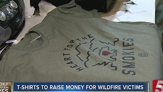 Project 615 'Heart Of The Smokies' Shirt Raises Thousands For Sevier Co. - Video