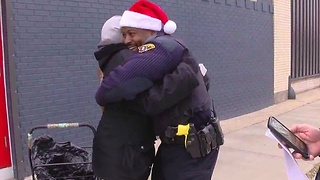 Cops give $50K in gift cards thanks to Secret Santa