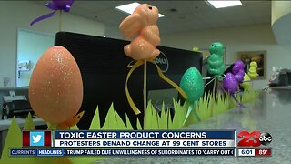Toxic Easter products raises concerns
