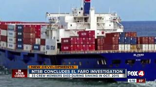 Final El Faro report blames ship's owner - Video