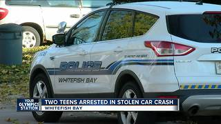 Teens break into Whitefish Bay home, steal cars, lead police on chase - Video