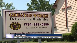 Neighbors fight proposed dance hall business in Romulus - Video