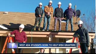 West Ada Students make a Nampa man's wish come true with Wish Granters - Video