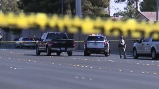 Eastern Avenue closed after pedestrian killed in crash - Video
