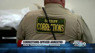 Corrections officer arrested on drug transportation charges - Video