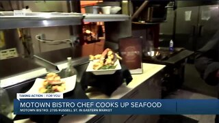 Cooking up Seafood with Motown Bistro