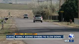 Family asking others to slow down - Video