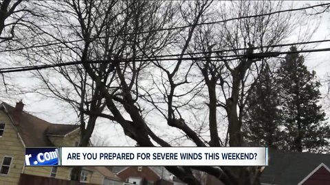 Is your home and yard prepared for the wind storm?