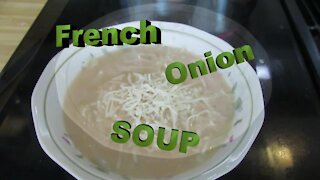 Quick French Onion Soup