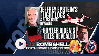 Jeffrey Epstein's Flight Logs and Black Book REVEALED + Hunter Biden's Files REVEALED
