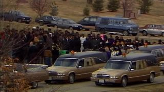 Funeral held for four girls killed in 1992 apartment fire