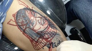 Guy Gets Ex-Girlfriend Tattoo Covered Up With Amazing Samurai
