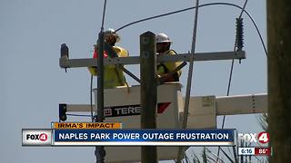 Power slow to return to some areas in Collier County - Video